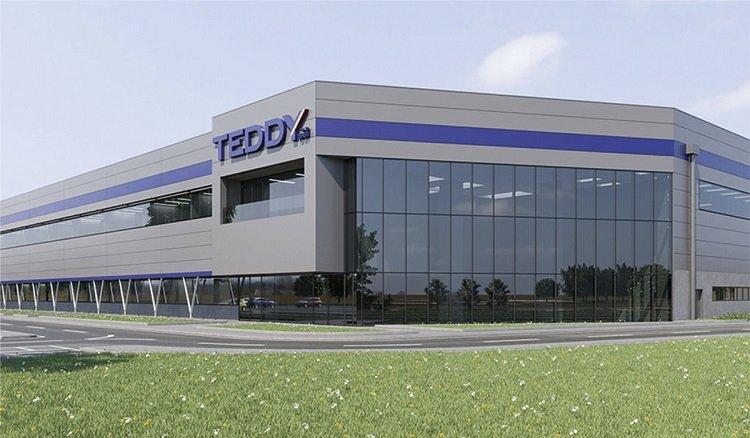 Stiferite per il nuovo centro logistico di Teddy Group