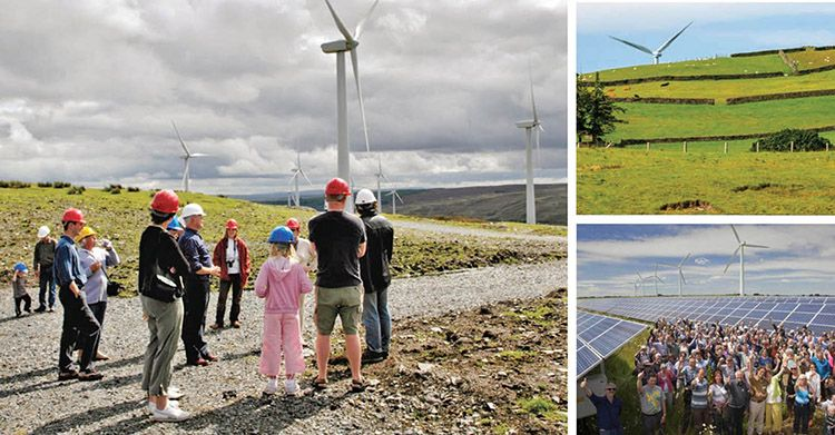 La prima comunità energetica italiana realizzata da Sorgenia