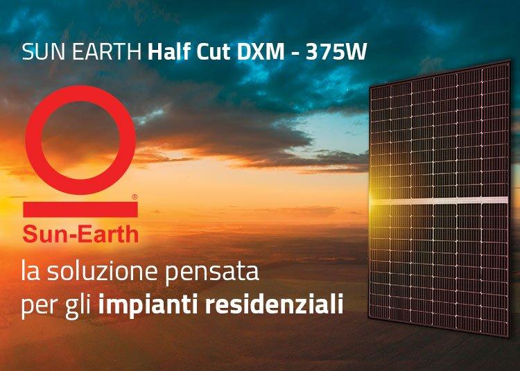 Moduli Sun Earth Half-Cut