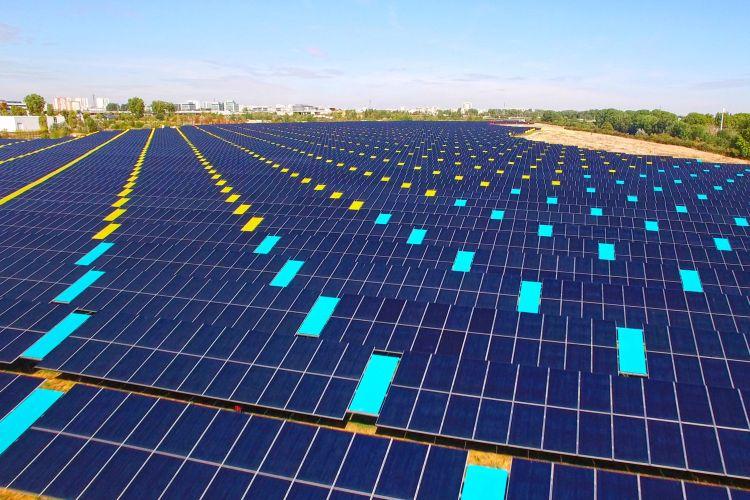 L'impianto fotovoltaico di Tolosa è anche un'opera d'arte