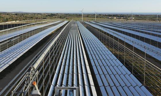 Solare a concentrazione + fotovoltaico, al via il primo impianto in Italia, in provincia di Trapani
