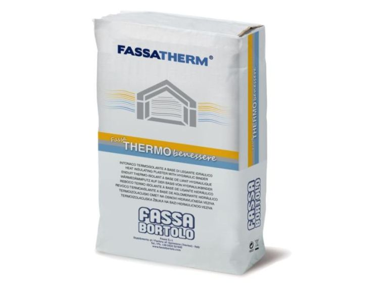 Intonaco termoisolante Fassa Thermobenessere