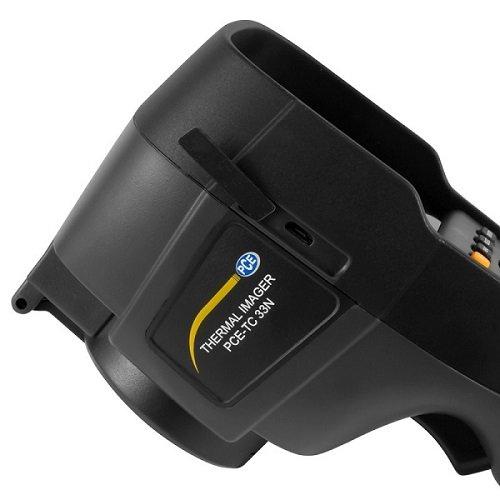 Dettagli della termocamera PCE