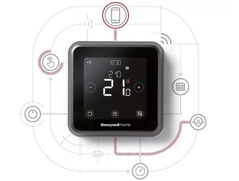 cronotermostato T6 Honeywell Home per controllare la temperatura