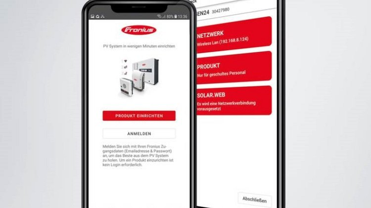 Fronius Solar.start App