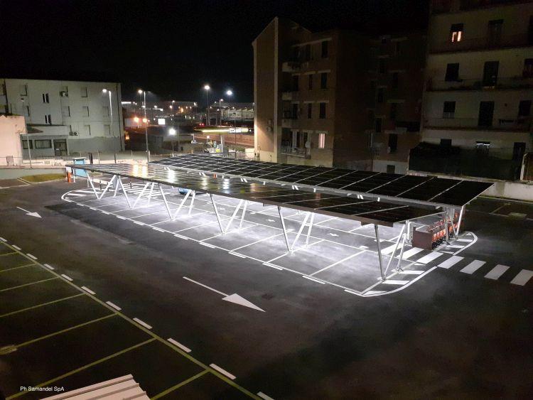 Futura sun per il Parcheggio e-mobility Ancona