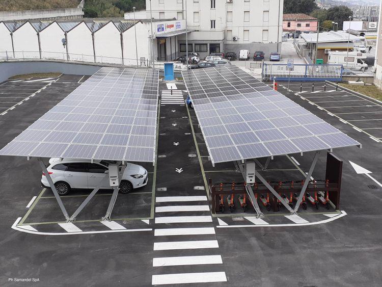 L'evoluzione dell'e-mobility nel parcheggio di Ancona passa anche da FuturaSun
