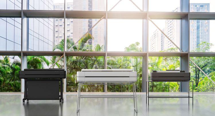 Stampante HP DesignJet serie T200, T600 e Studio