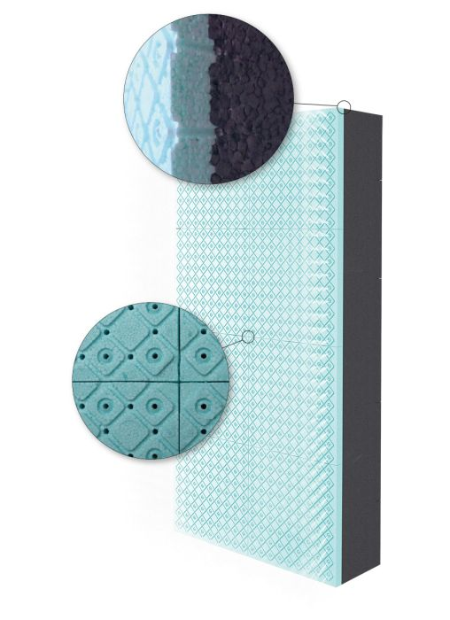 EPS RESPHIRA pannello microforato di Fassa per isolamento termico a cappotto