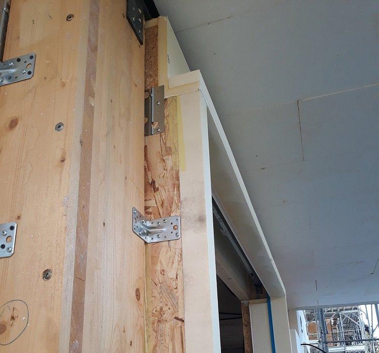 Sistema monoblocco RoverBlok per un complesso residenziale a Lissone