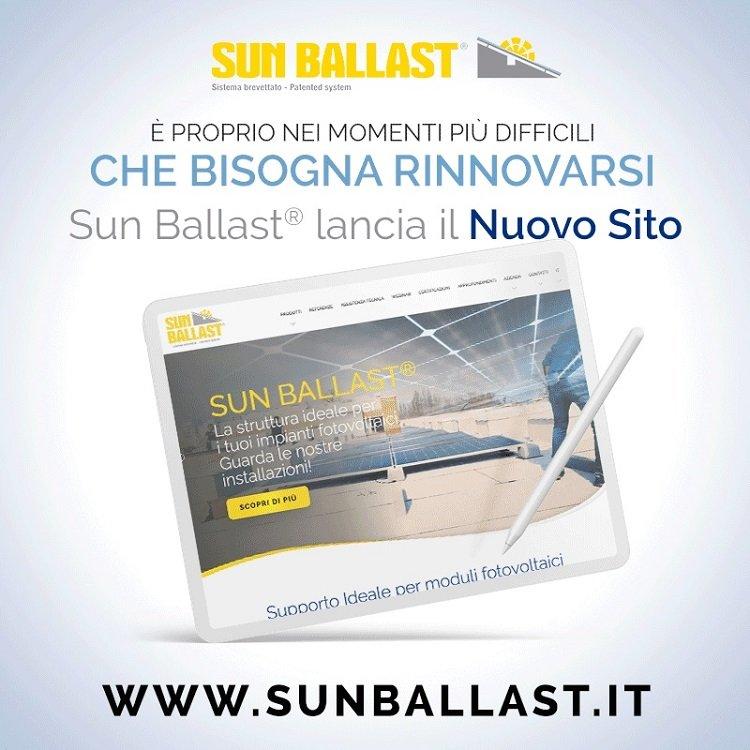 Sun Ballast rinnova il sito e svela i segreti del fotovoltaico