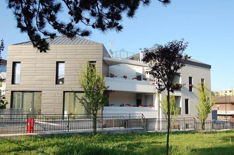 Edificio sostenibile realizzato da Xella