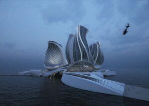 The 8th Continent: la stazione galleggiante per ripulire gli oceani