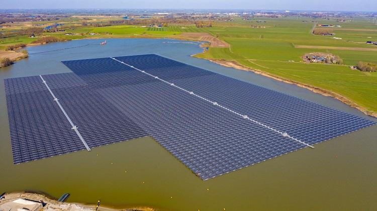 Bomhofsplas, il più grande parco fotovoltaico galleggiante d'Europa