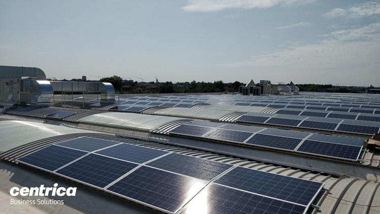 Il fotovoltaico di Centrica Business Solutions per Trendcolor