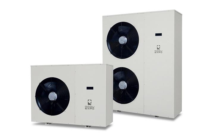 ModuExpo: pompa di calore monoblocco ad uso esterno
