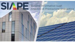 SIAPE: il Sistema Informativo sugli Attestati di Prestazione Energetica