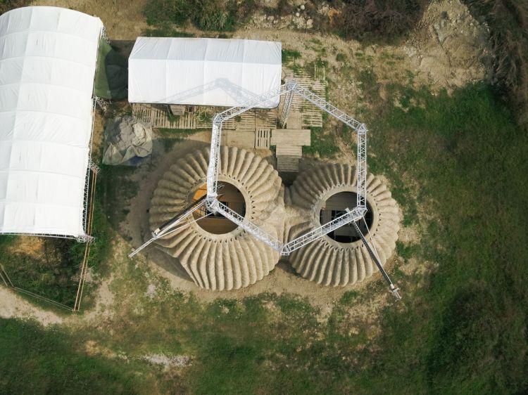 TECLA, Habitat stampato in 3D - WASP e Mario Cucinella Architects