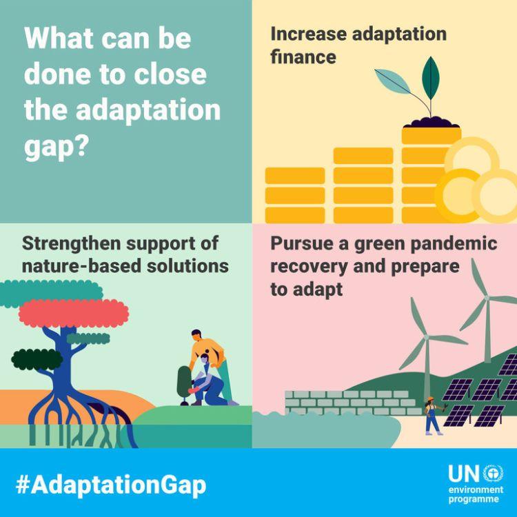 Unep: cosa si può fare per l'adattamento climatico