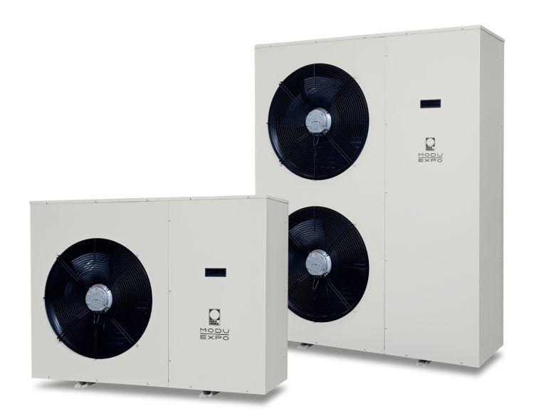 ModuExpo di Paradigma: pompa di calore monoblocco per esterno