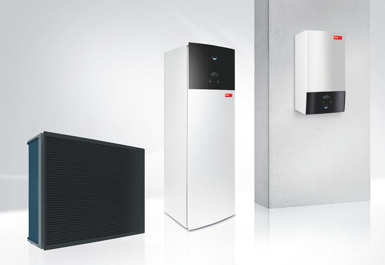 Pompe di calore monoblocco Belaria® Eco per climatizzazione e ACS