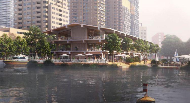 Floating Office Rotterdam: l'edificio sull'acqua che guarda al futuro