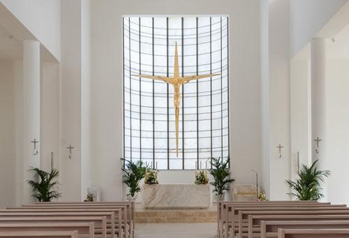 Interni della Chiesa di S. Liborio a Civitavecchia