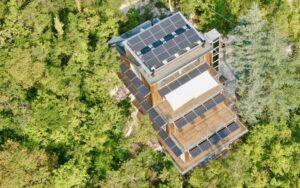 Il fotovoltaico di LG Electronics per La Forestale Luxury Ecolodge
