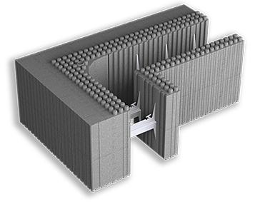 Argisol è un sistema di costruzione modulare antisismico di Bioisotherm che previene la formazione di ponti termici