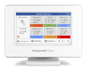 Smart Zoning di Honeywell Home evohome, il sistema che si evolve