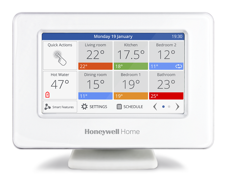 Smart Zoning di Honeywell Home evohome, il sistema che si evolve