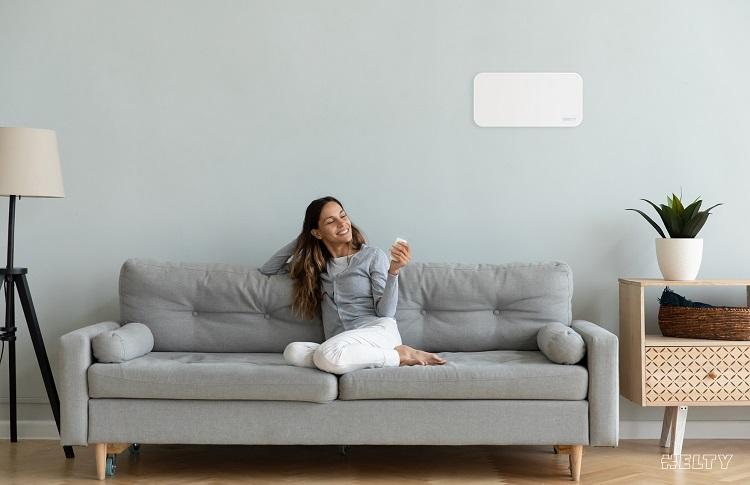Helty Flow Easy UV: ventilazione meccanica controllata a parete