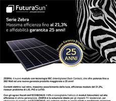 Sfrutta al meglio l'ECOBONUS con i moduli fotovoltaici Back Contact ZEBRA 3