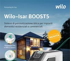 Scopri Wilo-Isar BOOST5 il nuovo sistema compatto per la pressurizzazione idrica 12