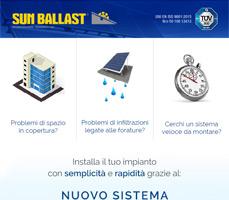 Problemi durante l'installazione di un impianto FV? Risolvili con Sun Ballast 8