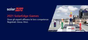 SolarEdge annuncia l'apertura dei SolarEdge Games 2021