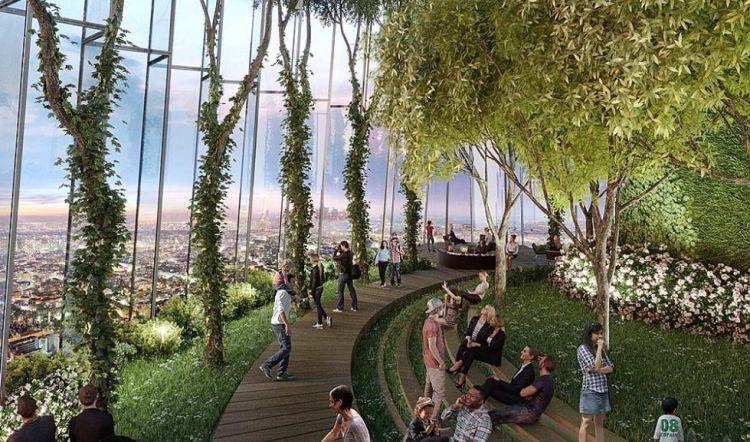 Riqualificazione Charenton-Bercy a Parigi: tetti verdi e rinnovabili