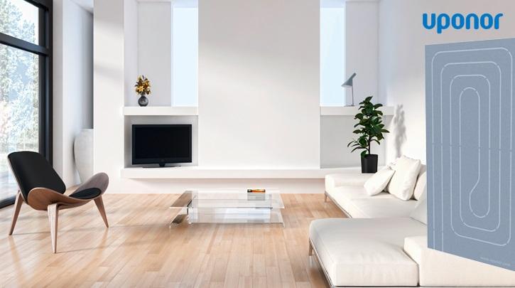 Uponor Renovis – clima radiante a soffitto/parete