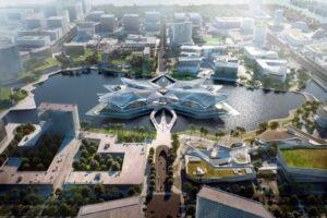 In Cina tre nuove architetture firmate Zaha Hadid Architects