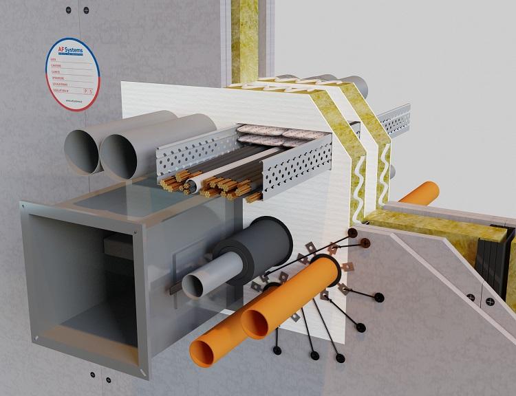 Pannello antifuoco per compartimentazioni AF PANEL