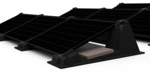 BISOL EasyMount™ Elegant HDPE 200: sistema di montaggio su tetti piani