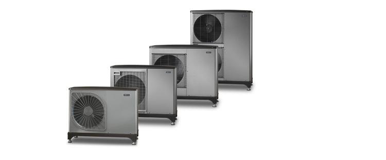 NIBE F2040: unità esterna aria/acqua monoblocco