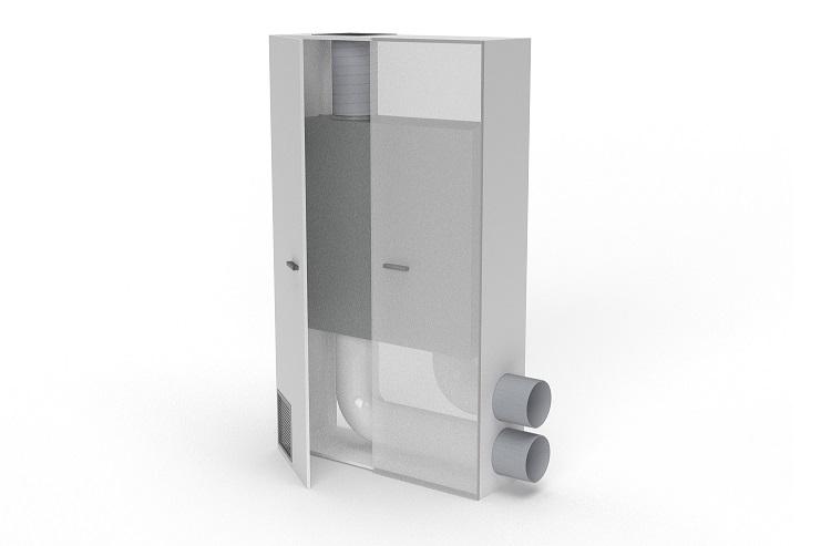 VMC Flow M800 per la salubrità dell'aria nelle scuole