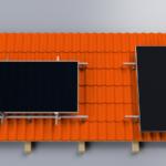 BISOL EasyMount™ Home HOOK: sistema di fissaggio per tetti in tegole