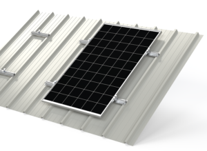 BISOL EasyMount™ Quick RAIL: soluzione di montaggio su tetti in lamiera grecata