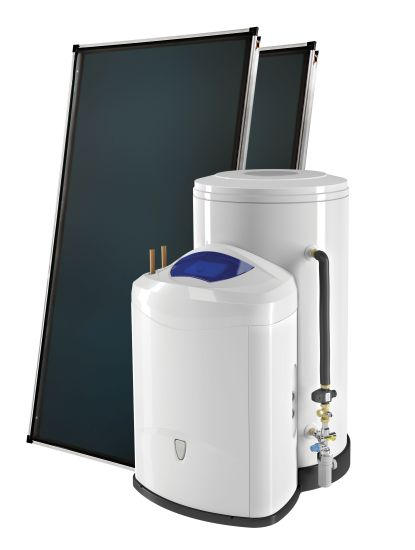 Zelios fast è l'accumulatore con stazione solare integrata di Chaffoteaux