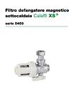 Scheda tecnica CALEFFI XS® serie 5459
