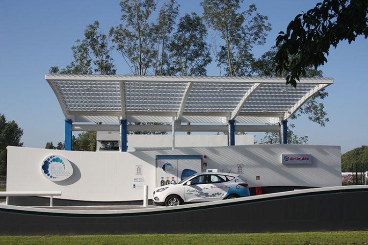 Idrogeno da rinnovabili: l'impianto di Air Liquide