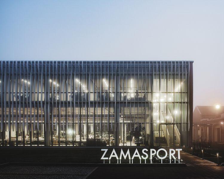 Storia e tecnologia si incontrano nella nuova sede Zamasport
