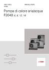 Scheda tecnica NIBE F2040
